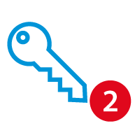 Icon 2: Zugang einrichten