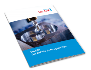 Prospekt tenERP Produktübersicht Download
