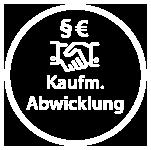 Icon der kaufmännischen Abwicklung in ten.ERP