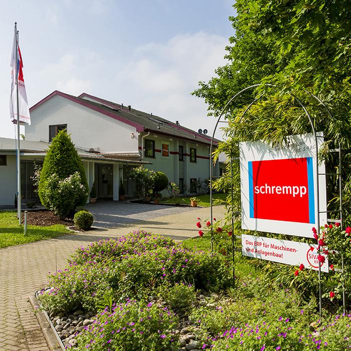 Firmengebäude schrempp edv GmbH