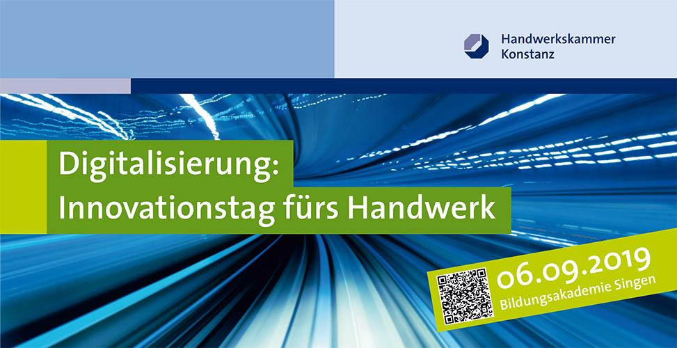 Innovationstag der HWK Konstanz mit ten.ERP